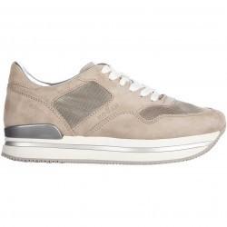 Hogan Sneakers H 222 Beige pentru femei