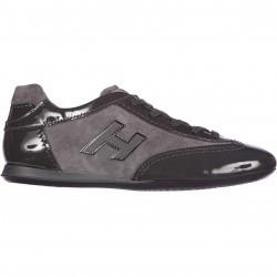 Hogan Sneakers Olympia H Flock Grey pentru dama