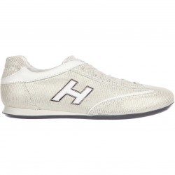Hogan Sneakers Olympia H Flock White pentru femei
