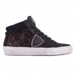 Philippe Model High Top Sneakers Middle Burlesque Black pentru femei