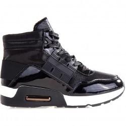Sneakers dama Glendora negri