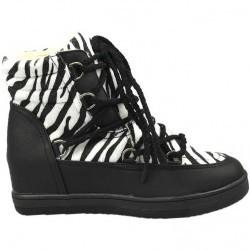 Sneakers dama negru Ruby