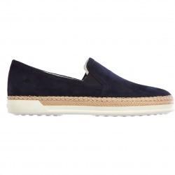 TOD'S Sneakers Rafia Blue pentru dama